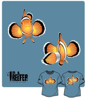 Clown Fish (Front/Back)